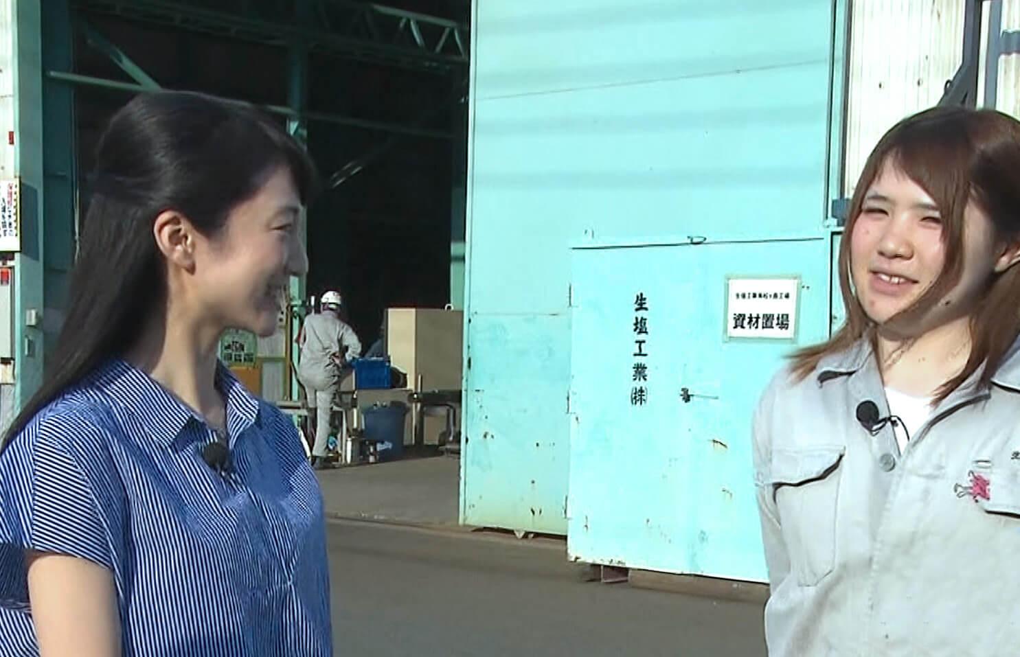 溶接ガールが<br /> 千葉テレビに紹介いただきました